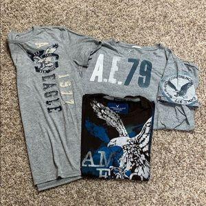 AE lot SS T-shirts